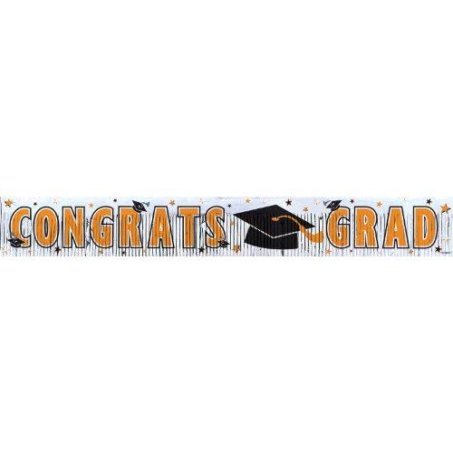 grad met frngd banner 5`orange
