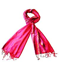 Special Offer - RedBirdFashion Women's silk stole_RBF-SNC-04_Multi-Coloured_Free...