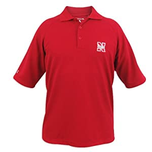 Nebraska Cornhuskers Antigua Mens Whisper Xtra-Lite Polo by Antigua