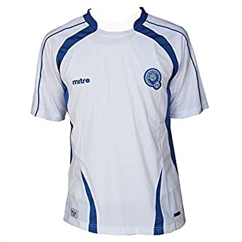 Amazon.com: Mitre Men's El Salvador Away Soccer Jersey: Clothing