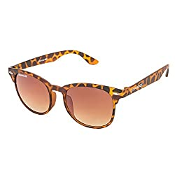 Danny Daze UV Protected Wayfarer Unisex Sunglasses (D-1706-C4|51MM|Brown Gradient)