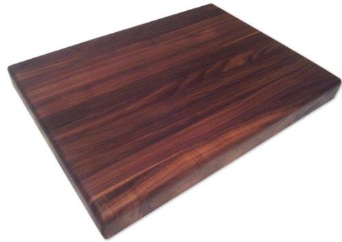 Butcher Block Cutting Boards ~ Armani fine woodworking edge grain walnut butcher block