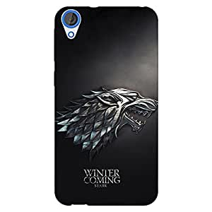 Jugaaduu Game Of Thrones GOT House Stark Back Cover Case For HTC Desire 820 Dual Sim
