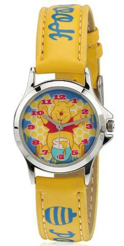 Disney Disney Analog Multi-Color Dial Children's Watch - 3K0906U-WP (YELLOW) (Multicolor)