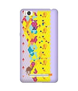 Stripes And Elephant Print-59 Xiaomi Mi 4i Case