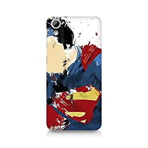 Ebby Superman Abstract Premium Printed Case For HTC Desire 826