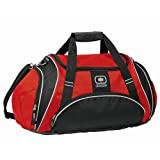 Ogio Crunch Duffel Bag (Red)