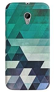 Dreambolic aqww Multicolor Back Cover for Moto G3
