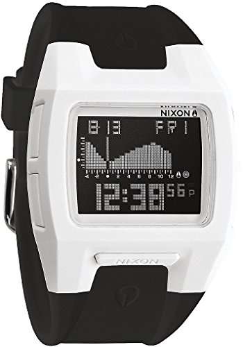 Nixon Lodown II Watch - Men's White/Black, One Size (Lodown Ii compare prices)