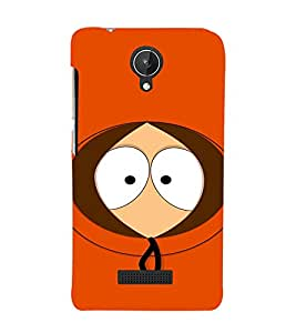 EPICCASE They killed kenny ! Mobile Back Case Cover For Micromax Canvas Spark Q380 (Designer Case)