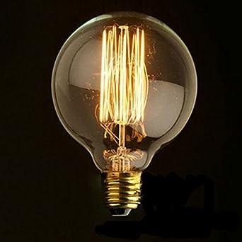 edison lampadina : KINGSO E27 Vintage bulbo a stile di Edison 40W Lampadina a ...