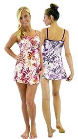 Silk Floral Slip - Pink or Lavender