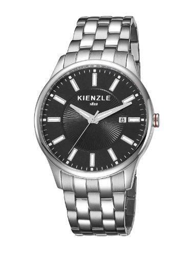 Kienzle - K3041013052-00028 - Montre Homme - Quartz Analogique - Bracelet Acier Inoxydable Blanc