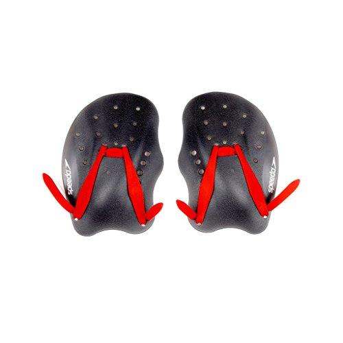 speedo-tech-paddle-aletas-de-natacion-tamano-m-color-negro-rojo