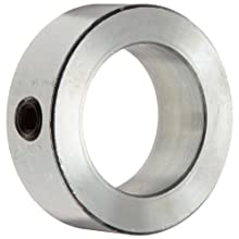 Boston Gear Setscrew Shaft Collar, Zinc-Plated Steel