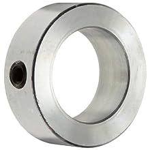 Boston Gear Setscrew Shaft Collar, Zinc-Plated Steel