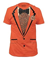 Orange Retro Prom Mens Tee XL