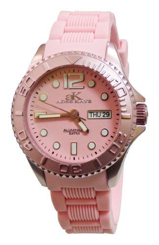 Adee Kaye Women's AK5433-L (PNK) D' Alluminio Collection Watch