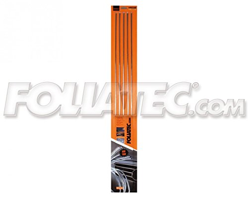 Foliatec - 32102 - CARWRAPPING film Basic Line shiny glossy yellow - 1.52 x 1.00 m per meter running -