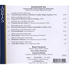 BassoonXX back cover