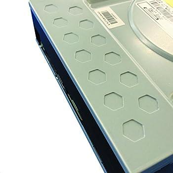 Pioneer パイオニア Windows10対応 BD-R 16倍速書込 S-ATA接続 ハニカム筐体 ブラックトレー仕様 BDXL対応 BD/DVD/CDライター ブラック ソフト付 バルク品 BDR-209XJBK/WS2