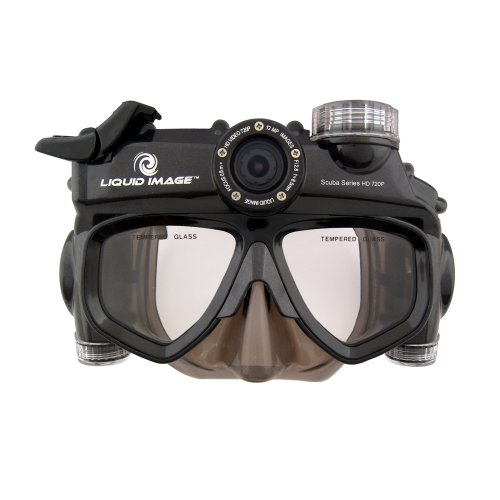 Liquid Image Xsc 319Wide Angle Scuba Series 12.0Mp Hd720P - Xl Size Skirt Waterproof Video Camera With 1-Inch Lcd Screen (Charcoal)