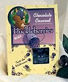 Chocolate Covered Wild Huckleberries, 2oz