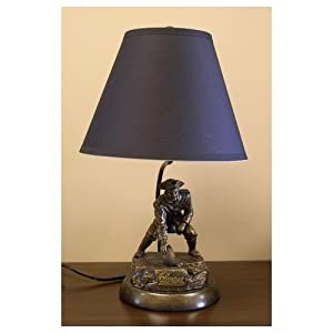 NFL Tim Wolfe Table Lamp NFL Team: New England Patriots by Tailgate Toss