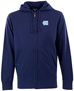 North Carolina Signature Full Zip Hooded Sweatshirt (Alternate Color) by Antigua
