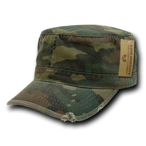 Cap fatigue military style vintage