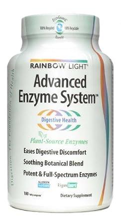 rainbow light advanced enzyme system vegetable capsule 120 per pack. Black Bedroom Furniture Sets. Home Design Ideas
