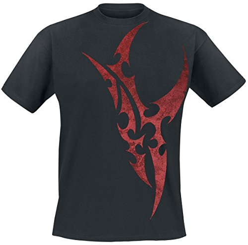 Red Blade T-Shirt nero XL