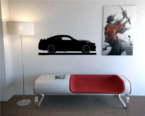 Wall Mural Vinyl Sticker Dealeship Car Ford Mustang Boss 302 A833