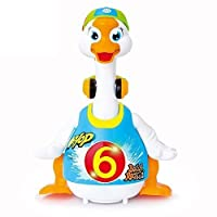 Wishtime Toddler Goose Animal Play Toys-can Dancer/Walking
