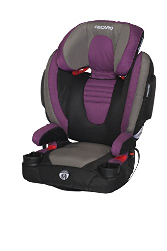 Recaro Performance Booster High Back Booster Car Seat, Violet front-370083