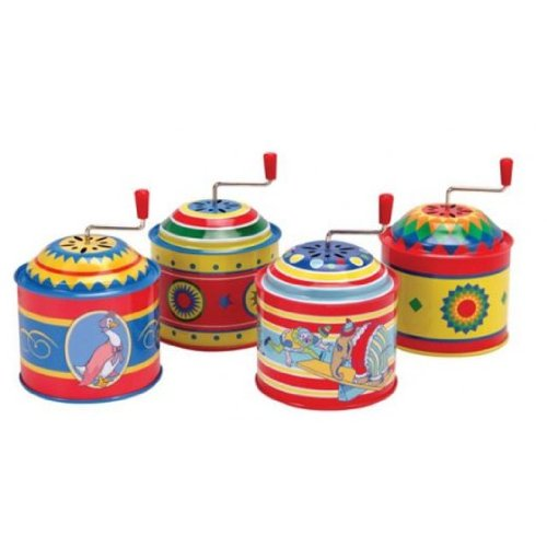 Tin Music Boxes Toy (each item sold separately) - 1