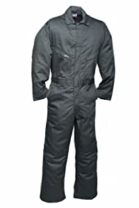 LAPCO CVFRD7SG-4XL XT Lightweight 100-Percent Cotton Flame Resistant Deluxe Coverall, Spruce Green, 4X-Large, Extra Tall