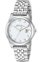 Marc by Marc Jacobs Women's MBM3410 Silver-Tone Stainless Steel Watch