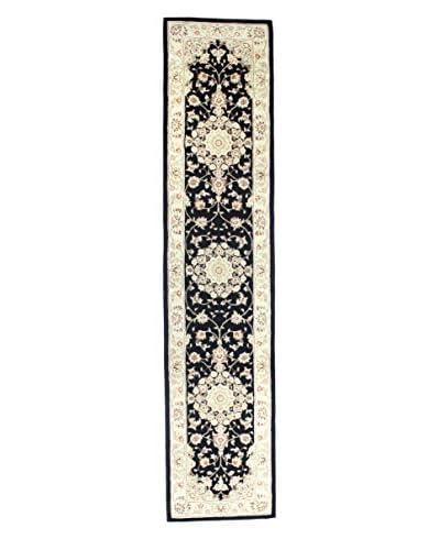 Bashian Rugs Wool Ruby Rug, Black, 2' 6 x 12' Runner