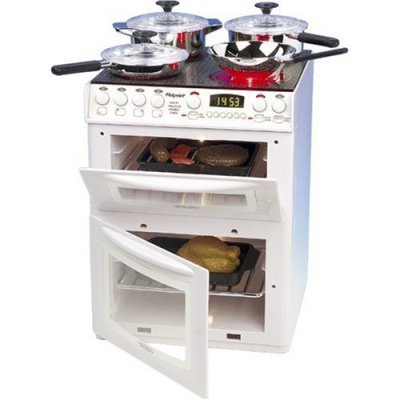 Pretend Play Toy Product: Toy Oven With Grill, Baking Tray, Pots And Pans: Kitchen Set front-532805