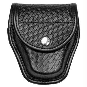 Bianchi Accumold Elite Hidden Snap 7917 Double Cuff Case (Plain Black)