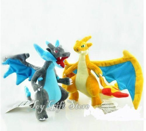2 dragones Charizard de Pokemon grandes