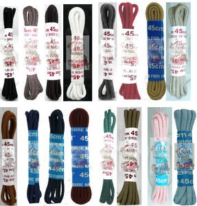 eCobbler 45Cm Thin Round Shoe Laces Choice Of Colours