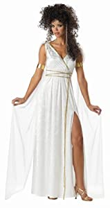 California Costumes Women's Athenian Goddess Costume,White,Medium