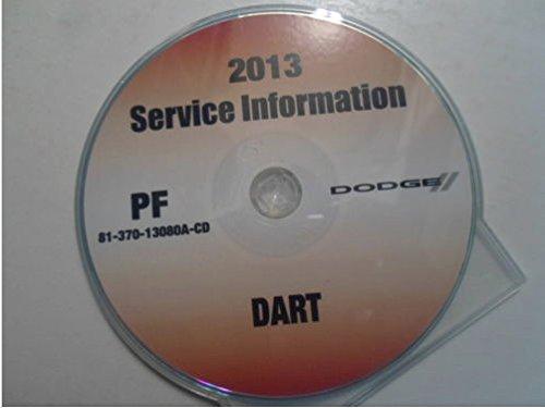 2013 DODGE DART Service Shop Repair Manual CD DVD DEALERSHIP BRAND NEW 2013 OEM (2013 Dodge Dart Manual compare prices)
