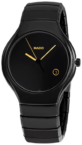 Rado Men's R27653172 True Black Ceramic Bracelet Watch