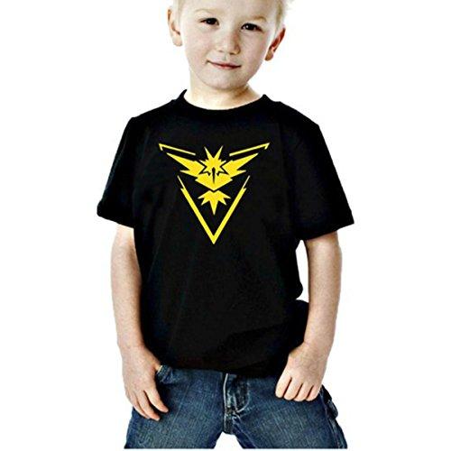 Gnrique-Camiseta-de-manga-corta-para-nio
