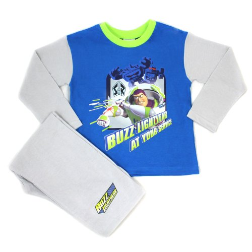 Toy Story Buzz Lightyear Pyjamas - Applejack - From Age 4 to 8 Years