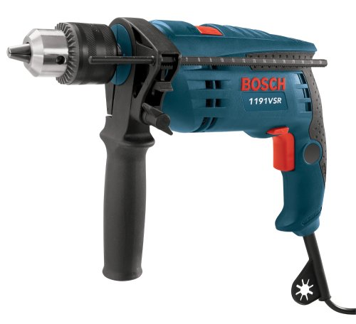 bosch 1191vsrk 120 volt 1 2 inch single speed hammer drill industrial supply. Black Bedroom Furniture Sets. Home Design Ideas