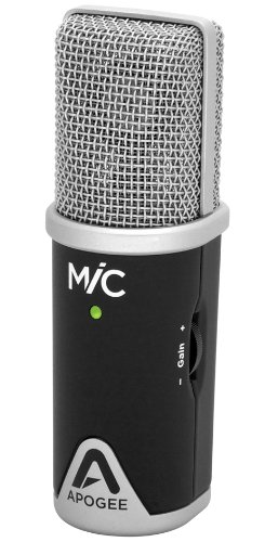 MiC Studio quality microphone for iPad, iPhone,